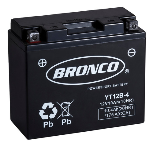 bateria moto yt12b-4 bronco gel motoscba