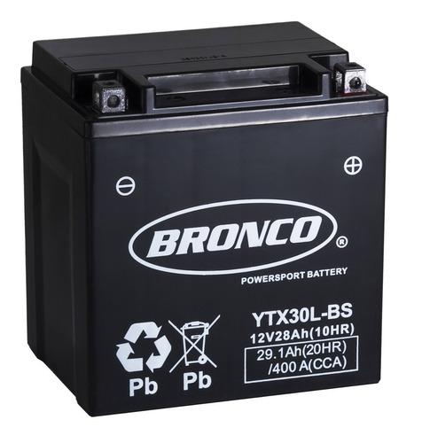 bateria moto  ytx30l-bs  bronco gel motoscba