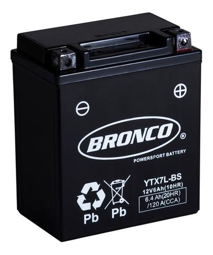 bateria moto ytx7l-bs bronco gel motoscba