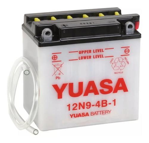 batería moto yuasa 12n9-4b-1 honda cb400ti hawk i 78/79
