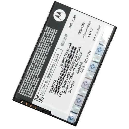 bateria motorola bf5x mb525 xt860 xt320 original milesto-u16