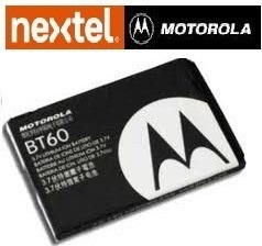 bateria motorola bt60 selo anatel nextel i580 i776
