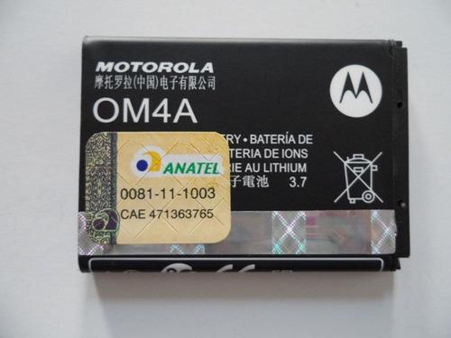 bateria motorola om4a original