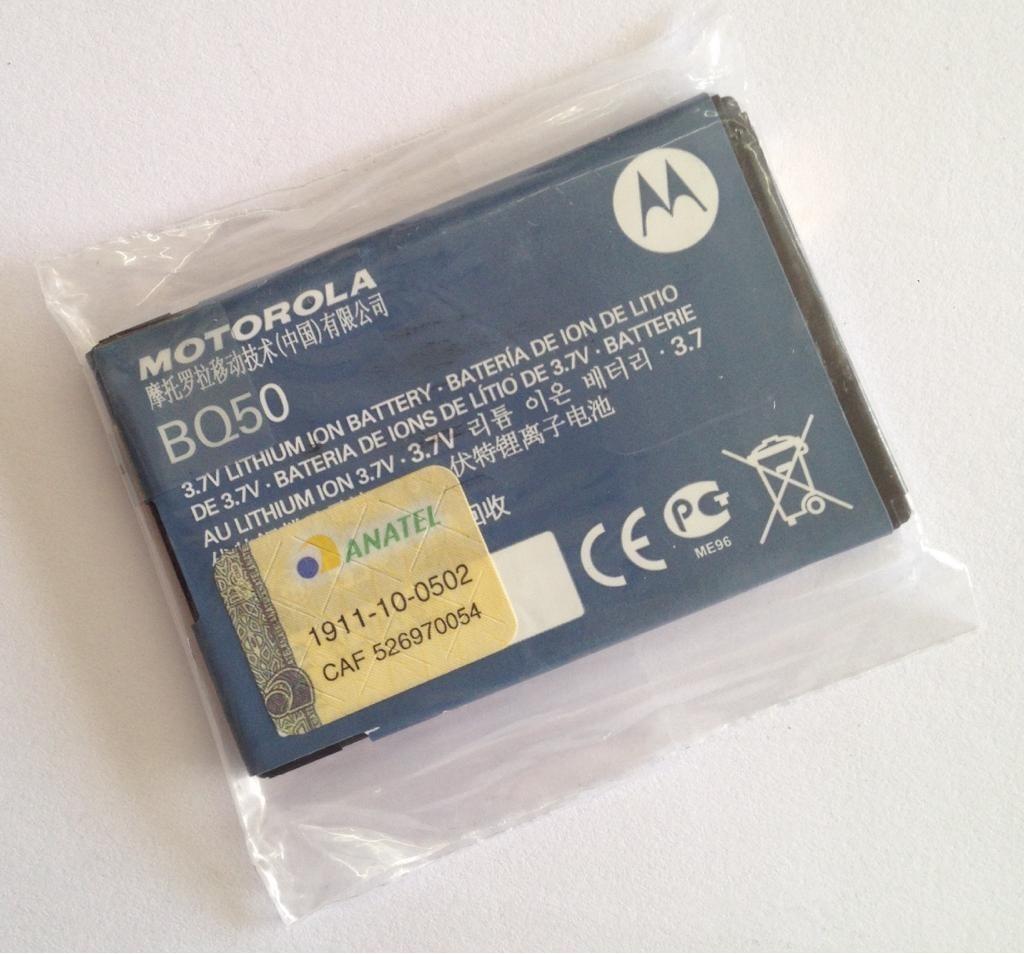 Motorola Baterai Bq50 Original Daftar Update Harga Terbaru Dan W370 W375 Service Manual Bateria Ex128 Ex119 Ex225 Nova Carregando Zoom