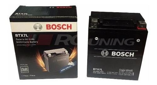 bateria motos bosch 12v honda tornado falcon ninja ytx7l-bs