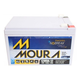 Bateria Moura 12v 12ah Scooter, Bike, No-break