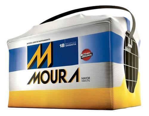 batería moura m20gd 12x65 a/h gol power 1,4 cuotas
