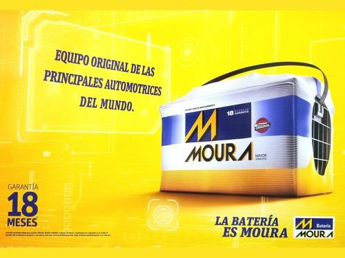 batería moura m20gd 12x65 a/h sandero 1,6