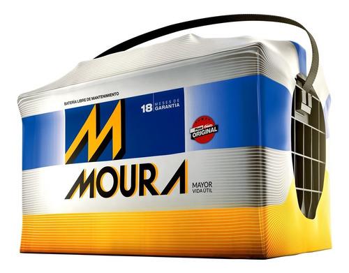 batería moura m20gd 12x65 a/h siena 1,4 cuotas