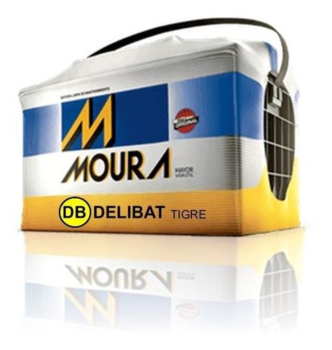 bateria moura m24kd 12x75 gol, escort (no envios)
