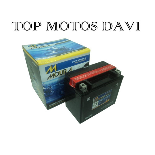 bateria moura ma10-e suzuki gsf bandit 1200 2005 a 2008