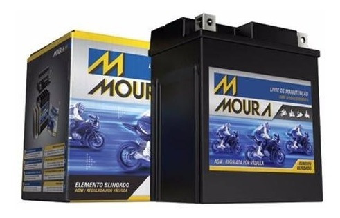 bateria moura ma18 di (ytx 20l-bs) hd honda triumph kawasaki