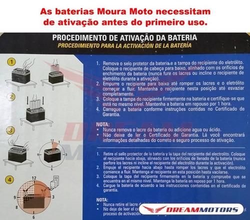 bateria moura ma8,6-e yamaha r6 r1 2009 2010 2011 2012 13 14