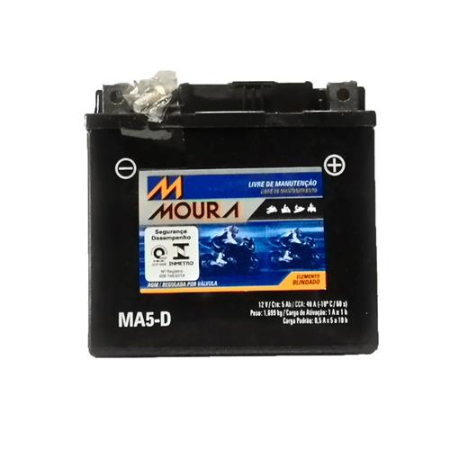 bateria moura moto 5ah - ma5-d 30375