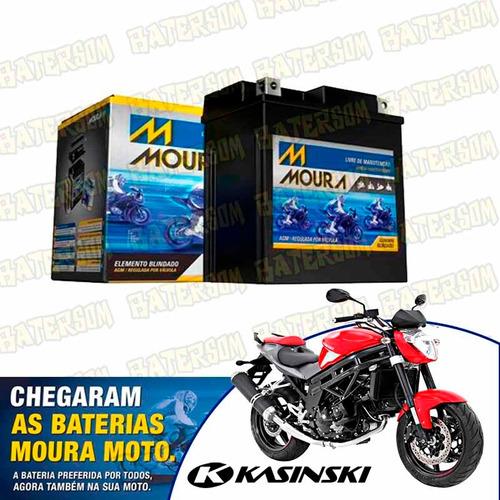bateria moura moto 9ah kasinski comet 250