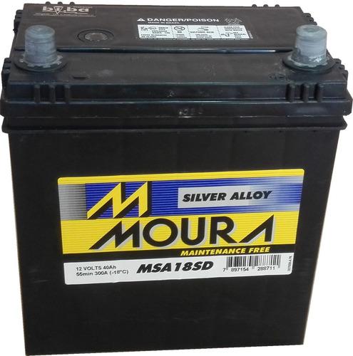 batería moura msa18sd, cca 300 amp.