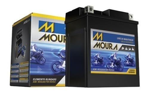 bateria moura twister 250 /fazer 250/tornado/falcon/cb 300 /