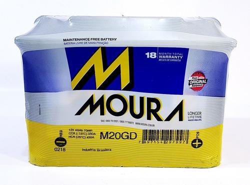 bateria moura vw voyage gol fox suran 12x65 48amp nafta