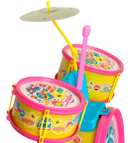 bateria musical grande soy luna