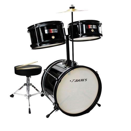 bateria musical profesional infantil banks negra
