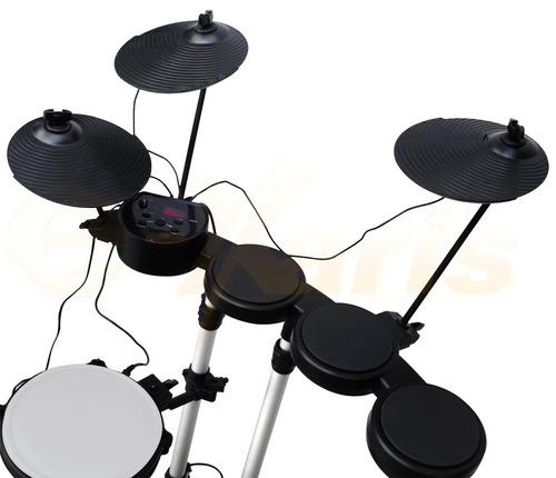 bateria musical profesional usala con bafle audifonos pc xar