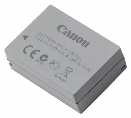 bateria nb-10l original canon powershot sx40 sx50 g1x g15 hs