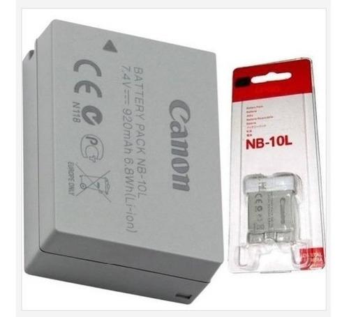 bateria nb-10l para camera canon powershot sx60 sx50 g16 g15