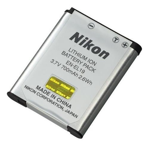 bateria nikon en-el19 s4000 s4150 s4200 s4300 s5200
