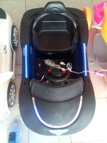 bateria niños carro