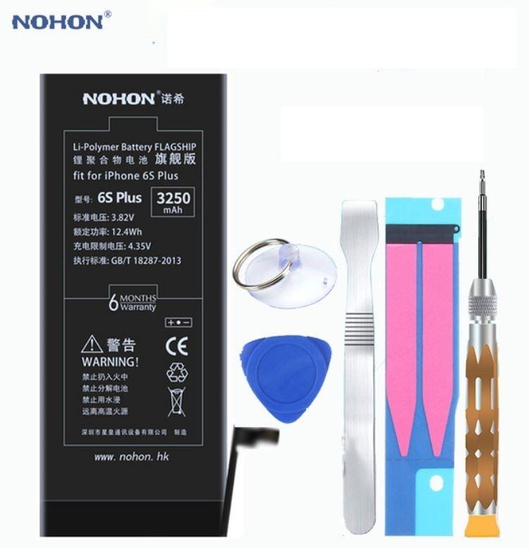 competitive price a2874 cf3c9 Bateria Nohon Para iPhone 6s Plus 3250 Mah Alta Capacidade