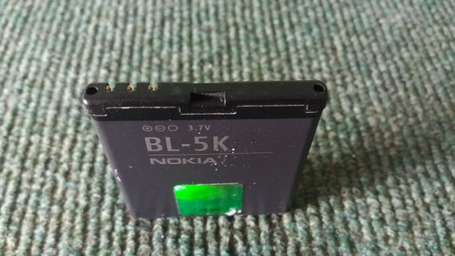 batería nokia bl-5k original usada
