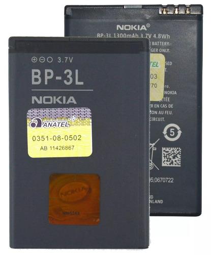 bateria nokia bp-3l lumia 710 n710 asha 303 frete grátis