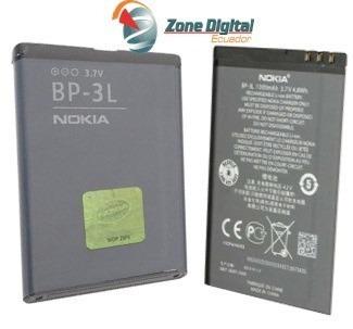 bateria nokia lumia 603 610 710 bp-3l 1300 mah