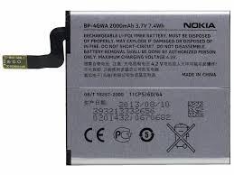 bateria nokia lumia 625 920 925 720 bp-4gwa original
