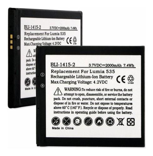 bateria nokia microsoft lumia 535 bv-l4a