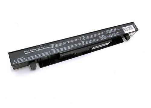 bateria notebook - asus x552e - preta
