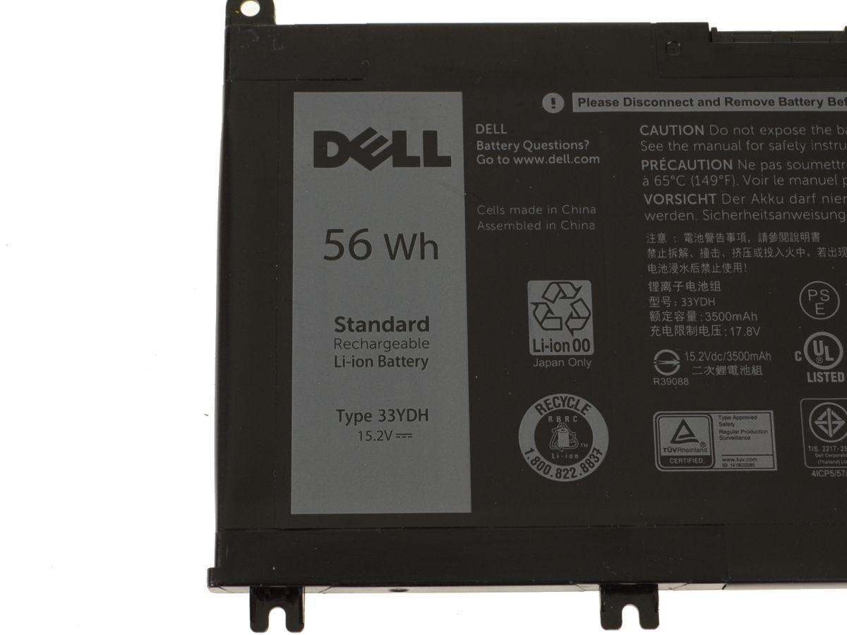 Bateria Notebook Dell Inspiron 15 7573 - 56wh - 33ydh