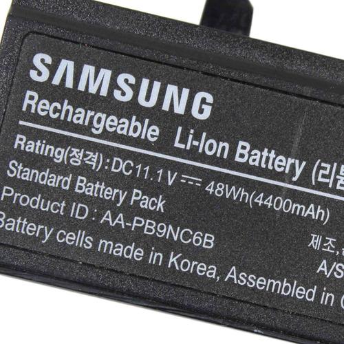 bateria notebook pn aa-pb9mc6s 4400mah 10.8v revisada (6598)
