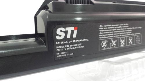 bateria notebook sti 1412 1413 1414 r403s4400-c1b1 g1l3 s1b1