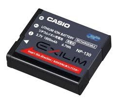 bateria np-130 original casio