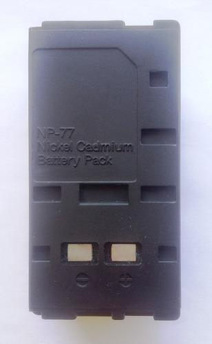 bateria np-77 - filmadora sony -  6 v 1500 mah