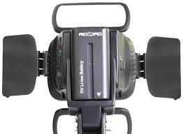bateria np f550 f330 2500 mah sony lampara led filmadora