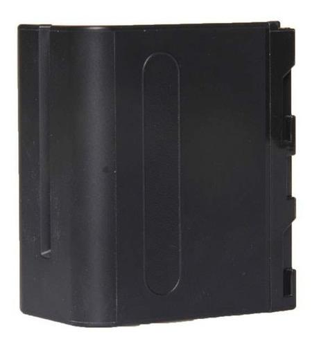 bateria np f970 iluminador de led sungun monitor 7200mah