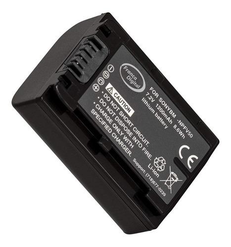 batería np-fv50 para sony fv30 fv70 fv100 sx44 sx45 sr68