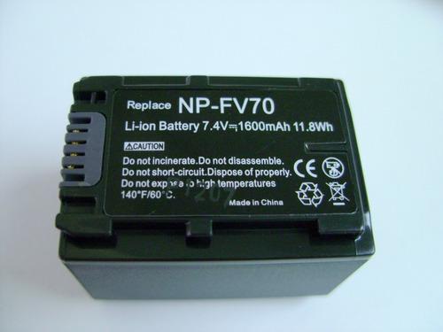 bateria np-fv70 videocamaras sony dcr-dvd hc sr sx cx hc sr