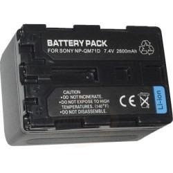 batería np-qm71 qm51 fm30 fm50 fm70 fm90 cámara sony dcr-trv