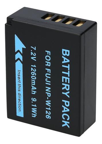 batería np-w126 de cámara fujifilm finepix hs30exr x-pro1 y+