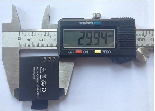 bateria nueva para camara sport cam a8 sj4000 sj5000 sj6000