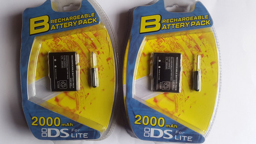 bateria nueva para ds  lite sellada