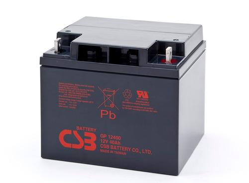bateria nueva sellada, csb 12v 40ah gp12400
